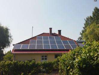 5 kW-os napelemes rendszer