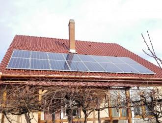 4 kW-os napelemes rendszer