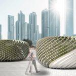 Magyar tervező napelemes algapavilonja tarolt egy amerikai pályázaton